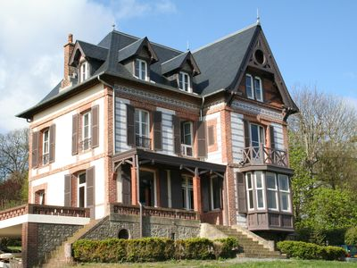 Photo for 7BR Villa Vacation Rental in Houlgate, Normandie
