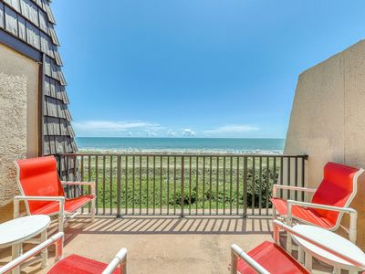 Photo for Oceanfront villa w/ ocean views, shared hot tub, pools & more - beach nearby!