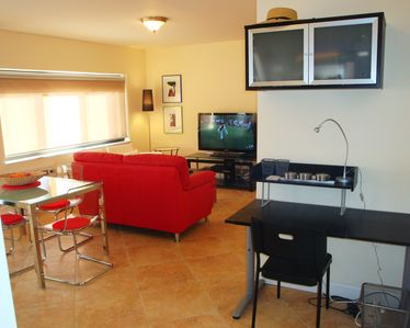 Villa features new furnishings, HDTV, WIFI & work station for your laptop.