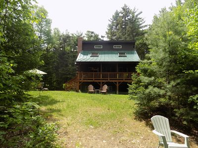 Photo for Great little cottage right on Mooslookmeguntic Lake