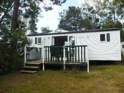 Photo for Camping Domaine de Pont Mahé *** - Mobile Home Ocean 3 Rooms 4 People