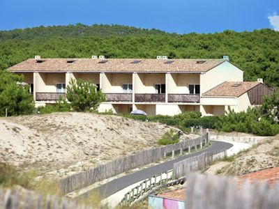 Photo for Conveniently located apartment near beach and surf resort of Carcans Ocean