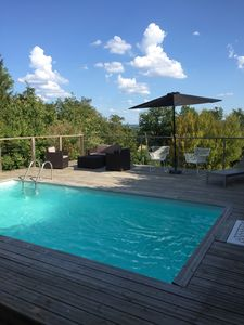 Photo for Gorgeous 3 Bedroomed Charentaise House with Private Heated Pool - not shared