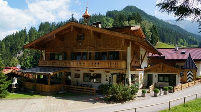 Photo for Large chalet with 3 apartments near Mayrhofen. The chalet is fully furnished and fully equipped.