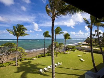 Photo for Oceanfront Kapaa Shores Beautiful Unit with Amazing Views!