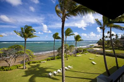 View from your private lanai.