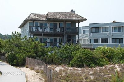 View of home from beach.