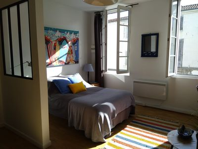 Photo for Studio 30 m² classified 2 * full downtown Rochefort