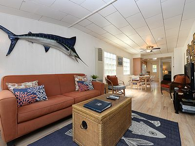 Photo for Delightful Cottage, Newly Remodeled, 2.5 Blocks from Beach, WIFI, BBQ - 319 Cata