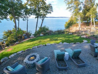 Photo for Spacious and bright waterfront home w/ stunning views of the bay throughout!