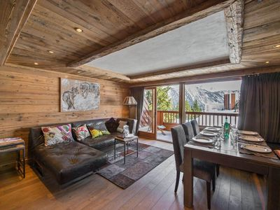 Photo for Vanoise 5: Refined apartment with contempory decoration, close to resort centre.