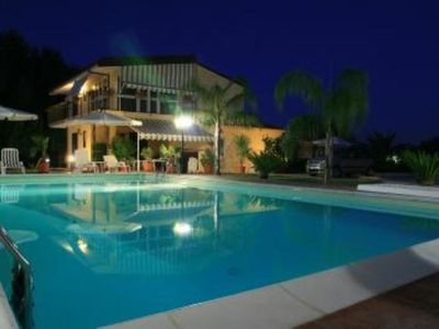 Photo for Holiday Apartment Villa Ludovica, Relax and Comfort, Swimming pool 6x12, Jacuzzi, Tennis and Padel courts, free Wifi, air-conditioned rooms