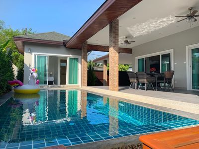 Photo for 3 bedroom 3 bathroom pool villa located in Bang Tao Beach area  An outdoor pool