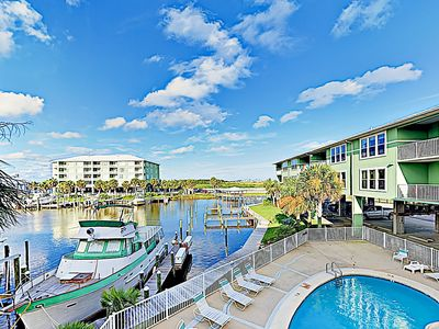 Photo for New Listing! Navy Cove Condo w/ Pools, Hot Tubs & Private Slip on the Bay