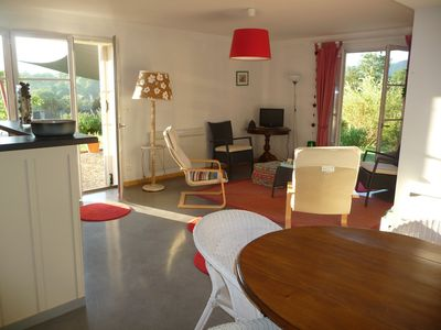 Photo for Splendid view of the Pyrenees, Ground floor, 2 bedrooms