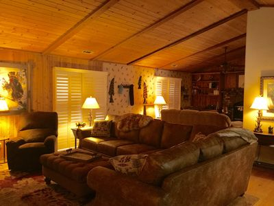 Photo for Cabin Is Close To Shopping, Hiking And Both Ski Resorts!