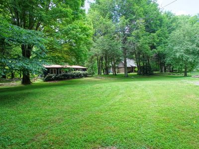 Photo for Amazing 1848 log cabin and tiny house on an acre by Boone and Banner Elk