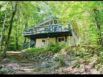 Photo for House steps from Boulder Beach and minutes  from North Conway!