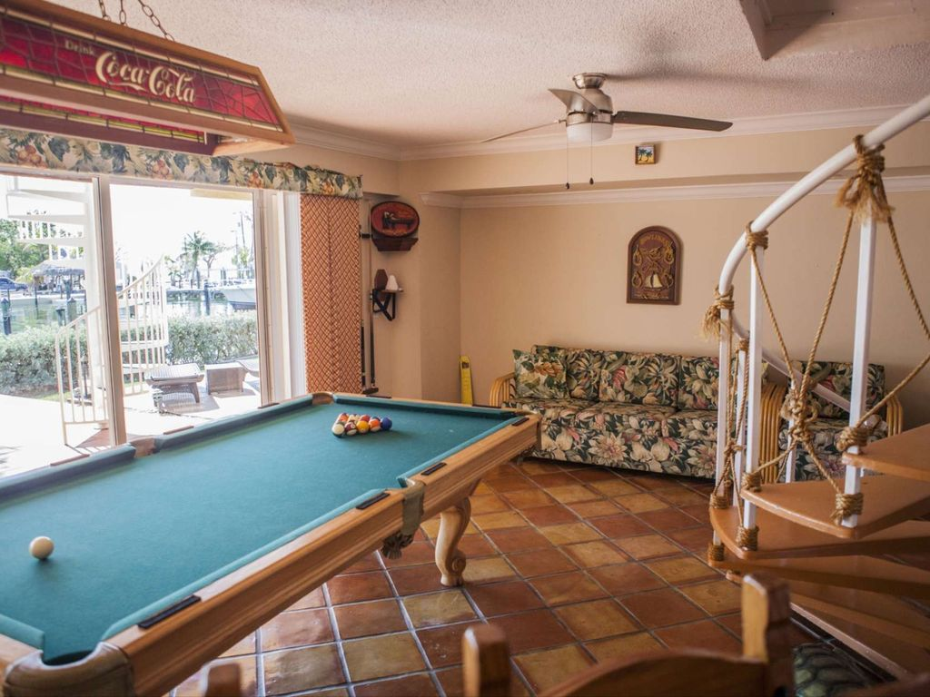 Summer Promo Ocean Views From Your HomeAway Key Largo - Pool table key