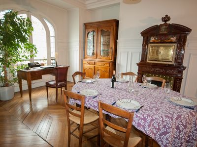 Photo for Charming, Well-Appointed 19th Century Flat in Downtown Paris