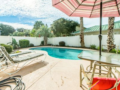 Photo for ☀Walk2Beach @ Copa Cabana Cottage☀Aug 18 to 21 $1,010 Total-3BR w/ PRIVATE Pool!