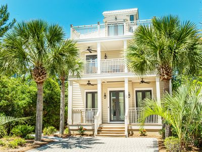 Photo for 30A☀️Walk 2 Rosemary☀️Seacrest Beach☀️Inspected & Disinfected☀️4BR Daze Gone Bye