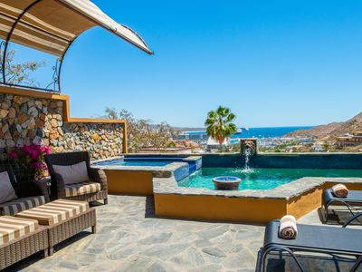 Photo for Captivating Pedregal Villa with Views of Marina & Bay