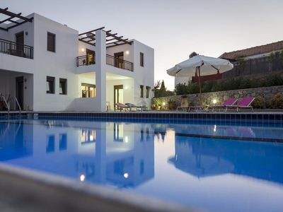 Photo for Heart of the Village,  Modern House, Private Courtyard, 12m Pool, Beach:400m