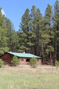 Photo for 'The Pines' Is The Perfect Log Cabin Getaway In The Beautiful Jemez Mtns.