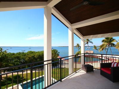 Photo for Luxury bayfront home Mahogany Bay