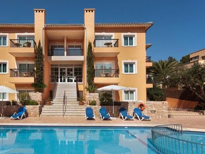 Photo for One bedroom Apartment, sleeps 4 in Cala San Vicente with Pool and WiFi