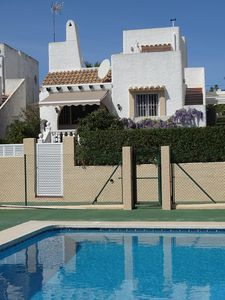 Photo for Lovely Villa in a quiet residential area of Calp over looking the communal pool