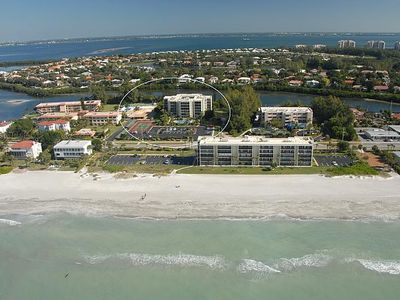 Incredible location on Longboat Key with fabulous water views from every window