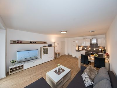 Photo for Exclusive luxury apartment barrier-free with xxl underground parking space and Wi-Fi
