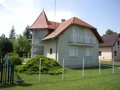 Photo for Holiday house with garden shower and children swing