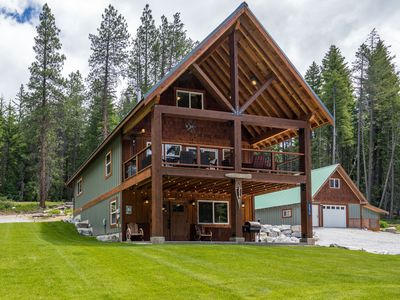 Photo for Modern, clean, beautiful cabin in Plain, near Lk Wenatchee with a new hot tub!