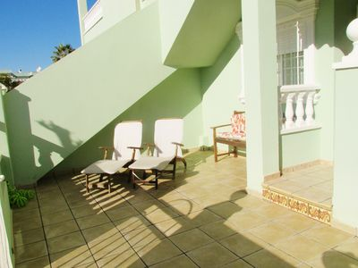 Photo for Bungalow with pool near the beaches of carabasí