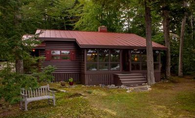 Photo for LIN127Wf - Waterfront Cottage in Moultonborough