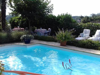 Photo for Welcome to our house with pool facing south facing the Pyrenees.