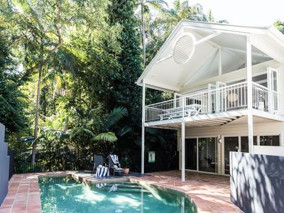 Photo for THE BEACH HOUSE - LITTLE COVE - pool, tennis court, 4 bedrooms, National Park