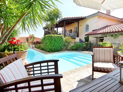 Photo for Beautifully Charming, Characterful, Artistic, Pool and Walking to Tavernas