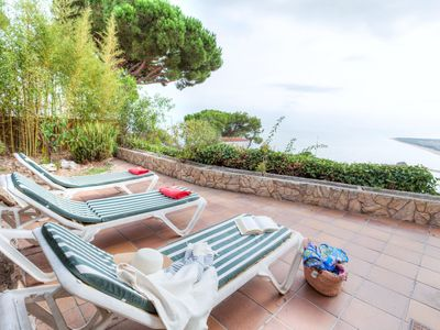 Photo for This 3-bedroom villa for up to 6 guests is located in Blanes and has a private swimming pool and Wi-