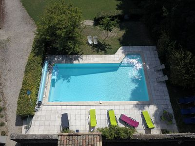 Photo for Large Provençal farmhouse with pool