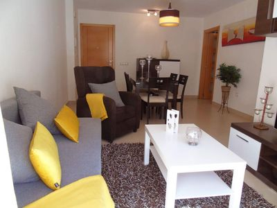 Photo for Chanquete apartment in Benalmádena with air conditioning, balcony & lift.