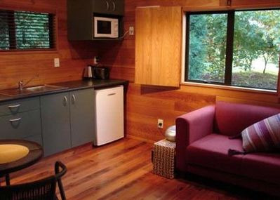 Kitchenette/Dining/Lounge of Boutique Cottage