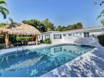 Photo for Downtown Delray Beauty pool home Sleeps 8 and close to beach