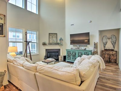 Photo for Luxe Townhome w/Patio, Bus to Bethany Beach