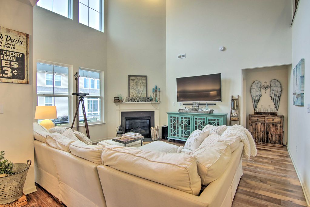 New Luxe Townhome W Patio Bus To Bethany Beach Millville
