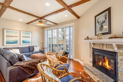 Living Room - Welcome to Steamboat Springs! This condo is professionally managed by TurnKey Vacation Rentals.
