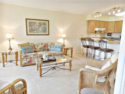Photo for NEW...Ocean Village Beach Front Condo - 1st Floor on Golf Course, Steps to Beach